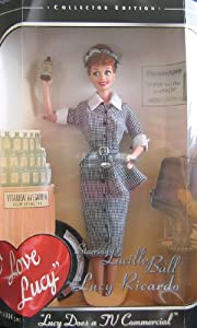 1997 - Mattel - Barbie - I Love Lucy : Lucy Does a TV Commerical/ Episode 30 - Vitameatavegamin - 12 Inch Doll - Lucille Ball - Collector Edition - New - Out of Production - Collectible