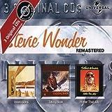 echange, troc Stevie Wonder - Coffret 3 CD : Innervisions / Talking Books / Hotter Than July