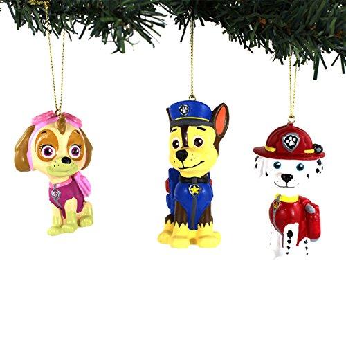 Paw Patrol Christmas Ornament.Paw Patrol Kurt Adler Blow Mold Ornaments Marshall Chase