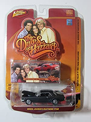 "Johnny Lightning - Dukes Of Hazzard Release 4 #5 ""Black Tillie II"" 1967 Fiord Mustang 1:64 Scale"
