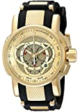 Invicta Men's 0899 S1 Touring Sport Chronograph Black Rubber Watch