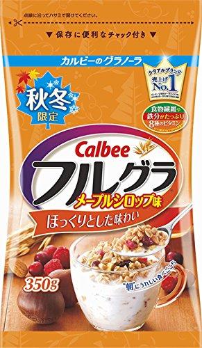 カルビー フルグラメープルシロップ味 350g