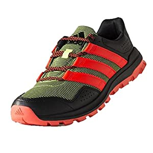 adidas Outdoor Slingshot Trail Running Shoe - Men's Solar Yellow/Solar Red/Black 10.5
