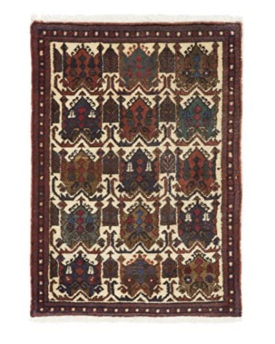 Darya Rugs Authentic Persian Rug, Multi, 3' x 5'