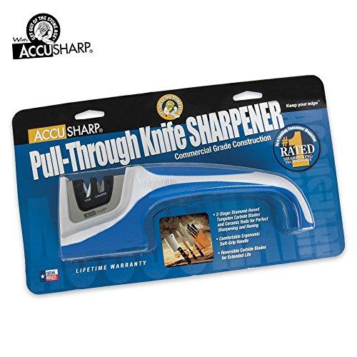 Accusharp Pull-Through Knife Sharpener