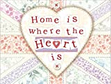 Original Metal Sign Co. Home Is Where The Heart Is Metal Wall Sign
