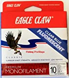Eagle Claw Test 300-Yard Easy Cast Classic Line (Clear Blue, 10-Pounds)