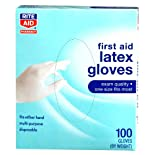 Rite Aid Gloves, Latex, Medical, 100 ea