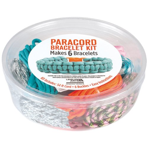 Leisure Arts Paracord Kit, Bright