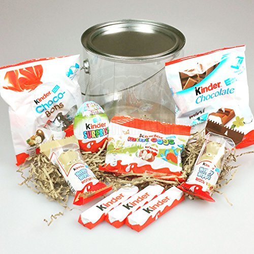 Kinder Surprise Paint Bucket - By Moreton Gifts - Happy Birthday, Thank You , Celebration