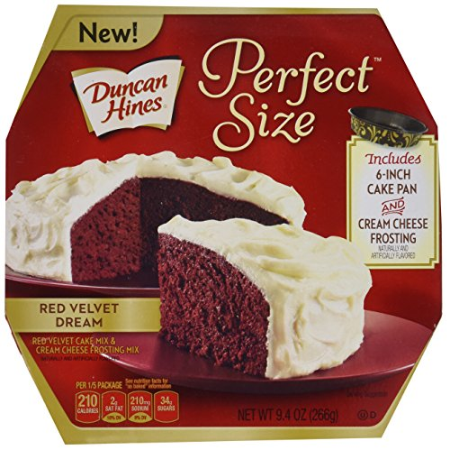 Duncan Hines Perfect Size Cake Mix, Red Velvet Dream, 9.4 Ounce Review