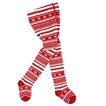 Luvable Friends Christmas Tights, 18-24 Months