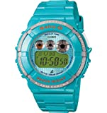 Casio BGD-121-2ER Ladies Watch Quartz Digital Green Dial Green Resin Strap