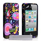 Coque iPhone 4 / 4S Etui Couleur Multi Silicone Gel M�duse Houssepar Yousave Accessories
