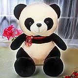 Richy Toys Panda Sitting soft toy for kids birthday gift Black/White (35cm)