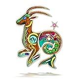 Seeka Ambitious Capricorn the Sea Goat Zodiac Pin from The Artazia Collection P0910