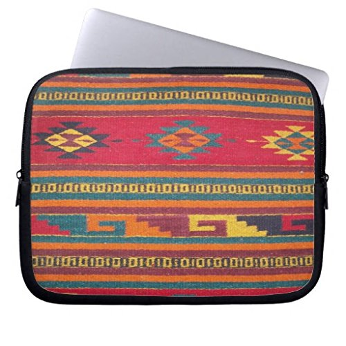 Colorful Red Aztec Pattern Computer Sleeve Laptop Sleeve 10 Inch,Notebook/MacBook Pro/MacBook Air Laptop (Kindle Quilted Cover Pattern compare prices)