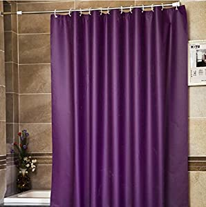 Deep Purple Shower Curtain High Tide Shower Curtains