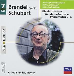 Brendel spielt Schubert (Coffret 7 CD)