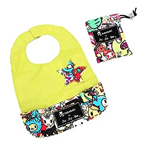 Ju-Ju-Be Tokidoki Collection Be Neat Reversible Bib, Iconic by Ju-Ju-Be