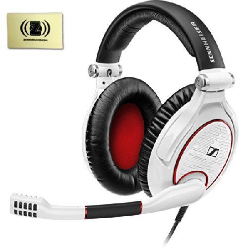 Sennheiser G4Me Zero Gaming Headset For Pc & Mac Bundle With Zorro Sounds Custom Designed Polishing Cloth