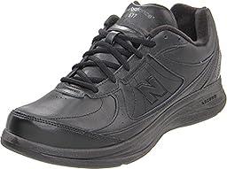 New Balance Men\'s MW577 Walking Shoe,Black,10 D US