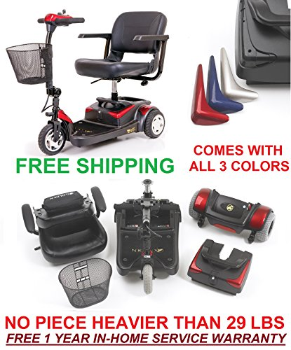 Buzzaround Lite Xr Electric Travel Mobility Scooter