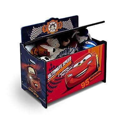 Delta Children Deluxe Toy Box, Disney/Pixar Cars by Delta Children