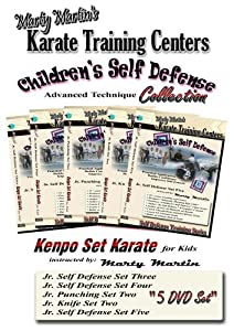 Marty Martin's Children's Self Defense Training Series Advanced DVD Collection