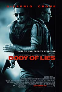 Body of Lies Poster 27x40 Leonardo DiCaprio Russell Crowe Mark Strong