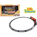 Hear That Whistling? Rail Master Train Play Set Comes With Sounds And Lights; Buy This For Your Child For An Entertaining...