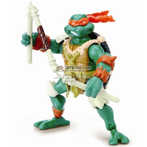 Picture of Playmates Michaelangelo: Teenage Mutant Ninja Turtles Paleo Patrol Series 4