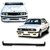 BMW E30 3-Series M-Tech Style Urethane Front Bumper Lip Chin Spoiler For 84-92 Models