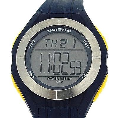 Umbro Gents / Boys Digital Multi Functional Rubber Blue Strap Sport Watch U664U