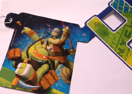 Check Out This Teenage Mutant Ninja Turtles Happy Birthday Banner