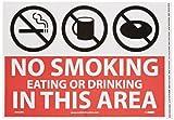 NMC M760PB No Smoking Sign, Legend