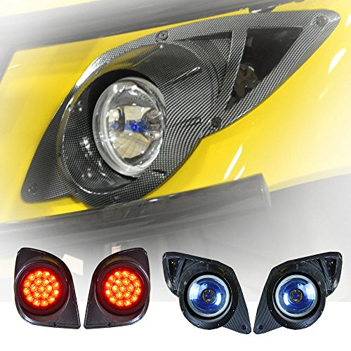 Golf Cart Carbon Fiber Light Kit For Yamaha Drive