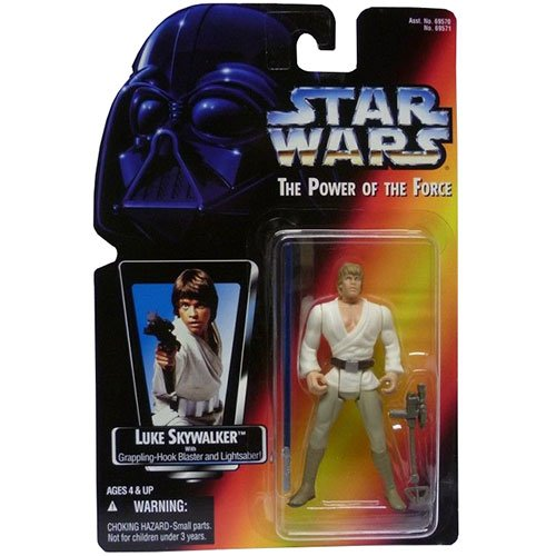 Star Wars Power of the Force Luke Skywalker Action Figure