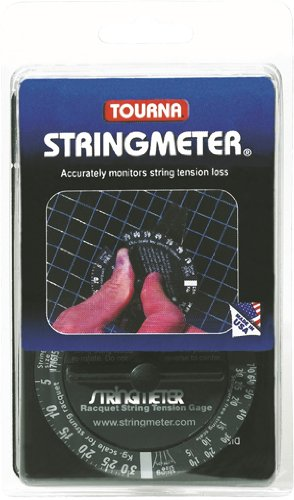 Tourna Racquet String Tension Meter-Tennis-Racquetball-Squash-Measuring Device