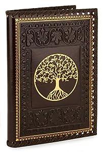 Italian Leather Journal TREE OF LIFE