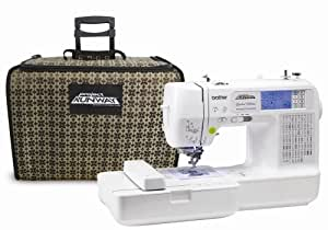 Brother LB6770PRW Project Runway Sewing-and-Embroidery Machine