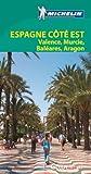 Michelin Espagne côté Est : Valence, Murcie, Baléares, Aragon. Avec plan détachable