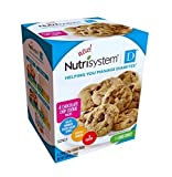 ONLY 1 IN PACK Nutrisystem D Helps Manage Diabetes, Chocolate Chip Cookie, 1 Pack