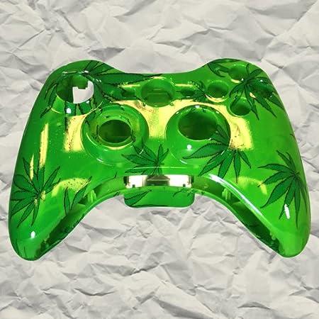 Green 420 XBOX 360 Controller Shell | Controller Mod