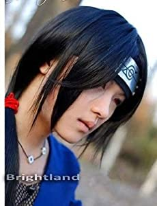 Flyingdragon Itachi Uchiha Itachi Long Straight Black Cosplay Wig