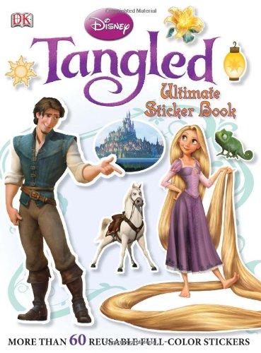 Ultimate Sticker Book: Tangled (Ultimate Sticker Books)