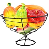 Indian Ocean Fruit Basket With Multi Color Designer 6 Pcs Candle IOC-059
