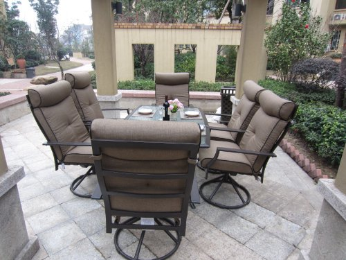 Patio Sets Clearance: 7pc Ravello Outdoor Patio Dining Set