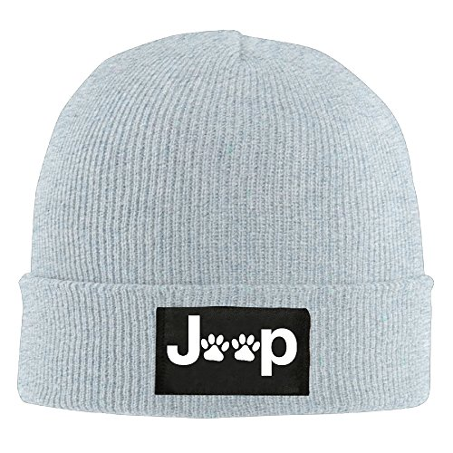 Jeep Wrangler Dog Paw Winter Beanie Hat