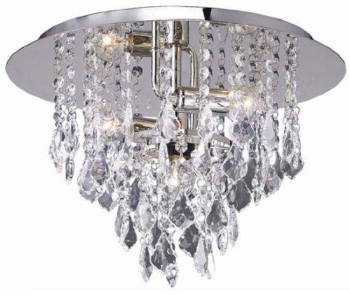Kristall Glas Deckenleuchte Lampe 3x E14 Deckenlampe